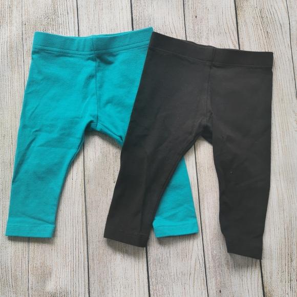 🤩3/$10🤩  Set of 2 Baby Leggings